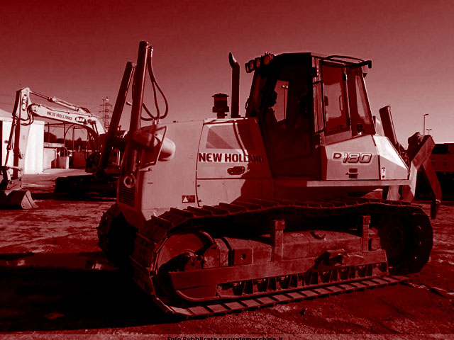 Bulldozer de plus de 200 quintaux d'occasion
