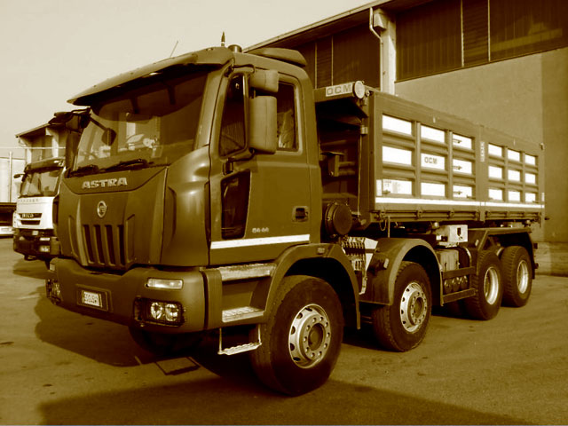 Camion benne d'occasion
