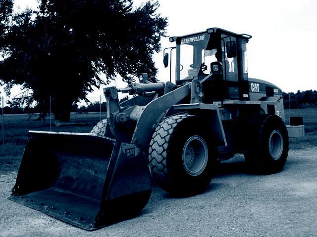 Chargeuse sur pneus de 70 à 140 quintaux d'occasion