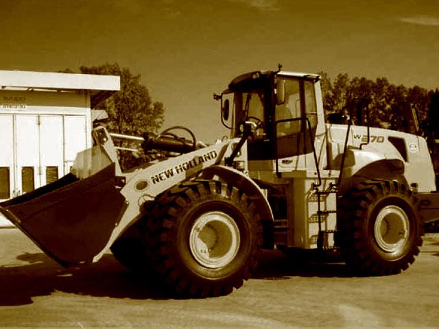 Chargeuse sur pneus de plus de 210 quintaux d'occasion