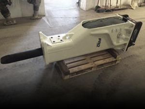 Marteau hydraulique pour mini pelle d'occasion