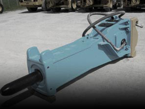 Marteau hydraulique pour pelle d'occasion