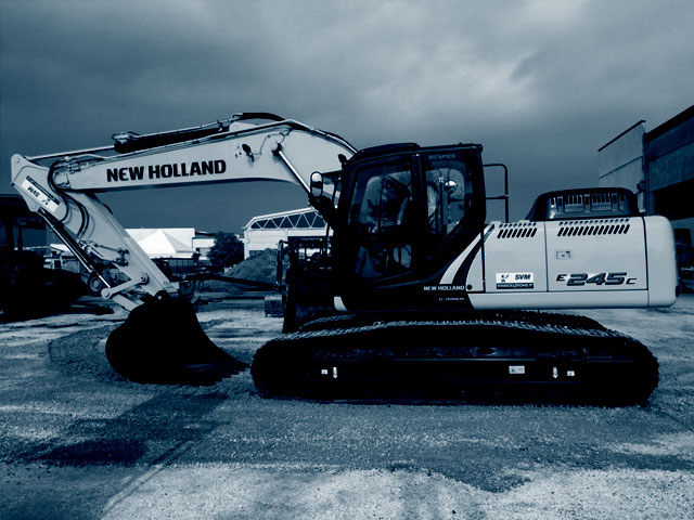 Pelle New Holland d'occasion