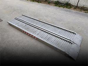 Rampes en aluminium d'occasion