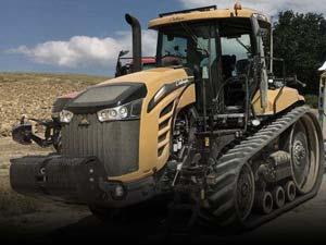 Tracteur à chenilles d'occasion
