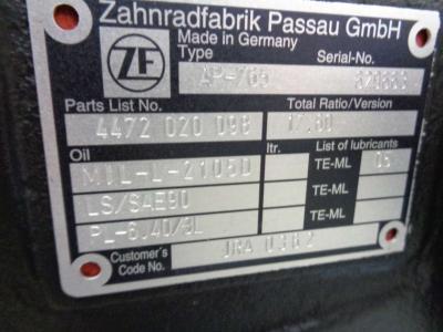 Essieu arrière pour ZF AP-765 en vente par PRV Ricambi Srl