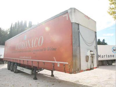 Fliegl Semi-remorque bâche / rideaux en vente par Bartoli Rimorchi S.p.a.