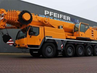 Liebherr LTM1100-5.2 10x8 Drive And 10-Wheel Steering en vente par Pfeifer Heavy Machinery